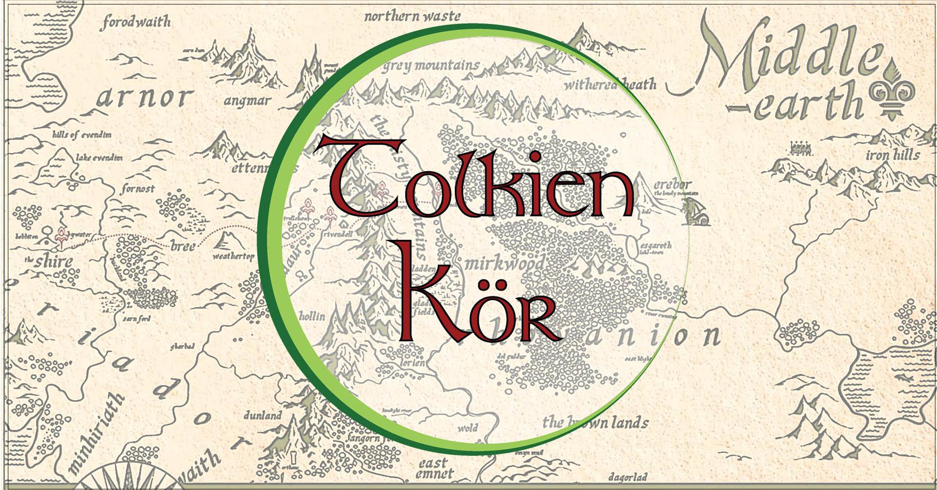 Tolkien Kor Kozepfolde Terkepei